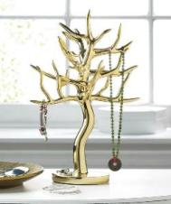 GOLD JEWELRY TREE
