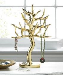 GOLD JEWELRY TREE